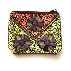 Gift 💝 Boho Beaded Coin Purse